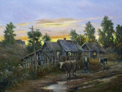 Evening in the village